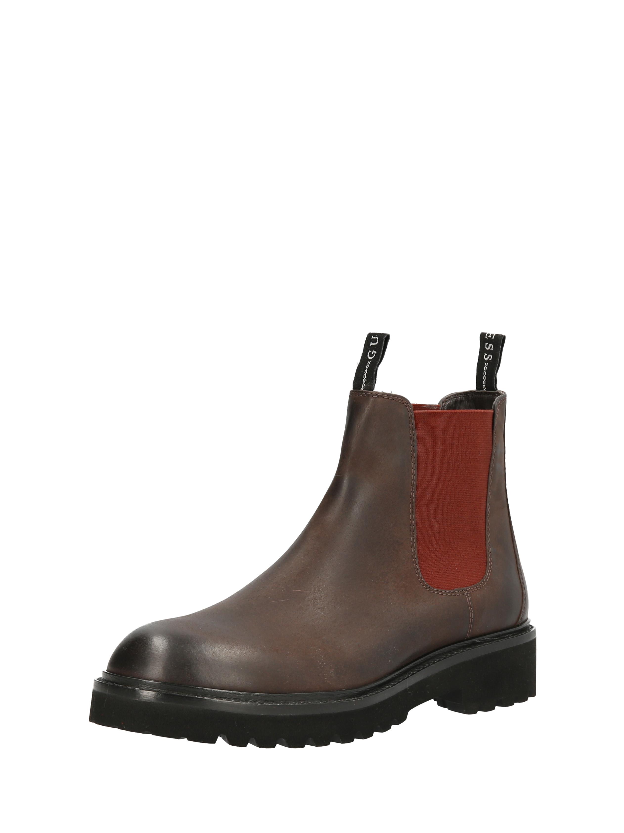 GUESS%20Footwear%20 %20FM8ENCLEA10 BROWN - GUESS presenta sus accesorios de hombre y mujer para temporada Otoño-Invierno 2020