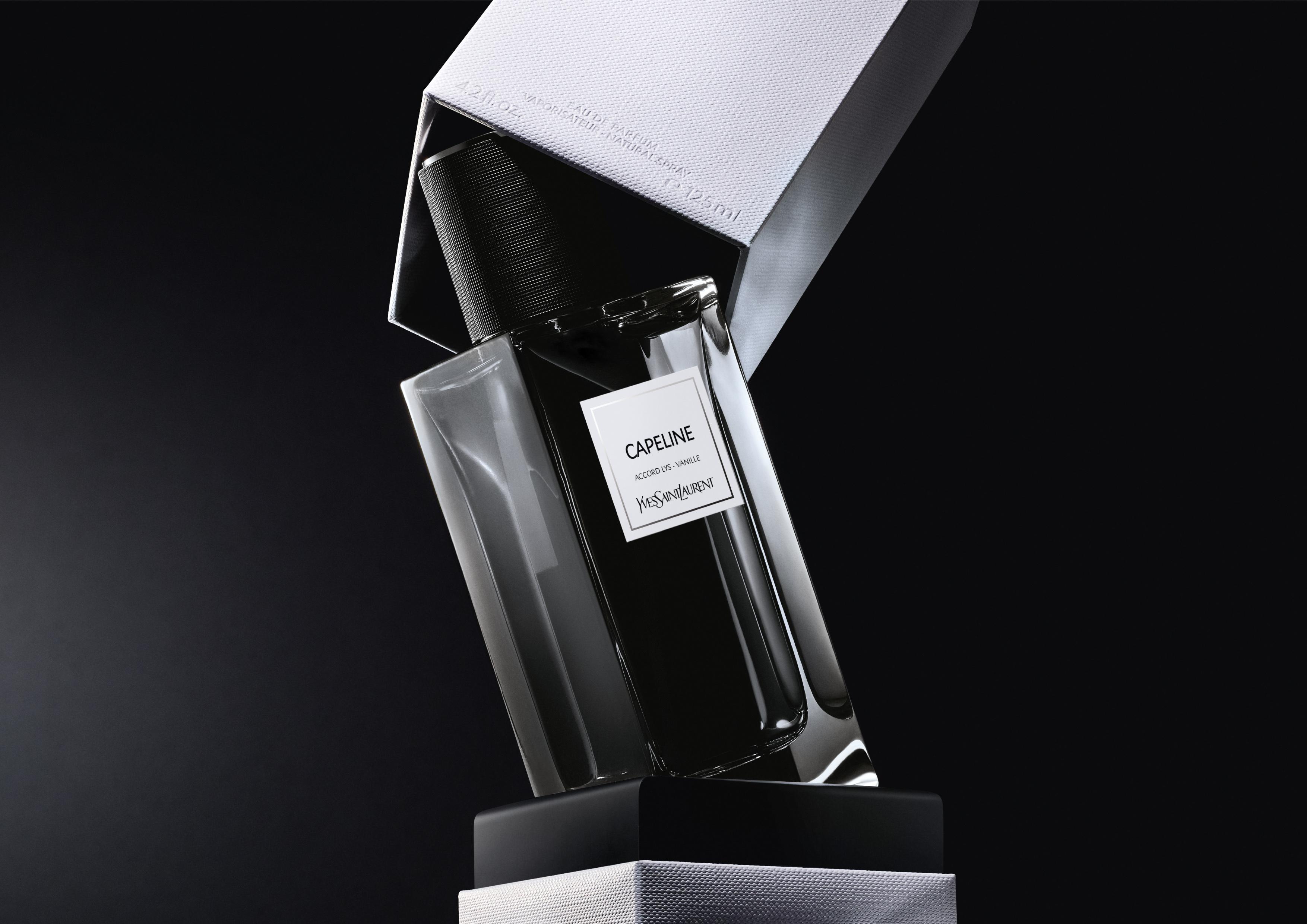contemporain lvp capeline horizontal ysl - Yves Saint Laurent presenta  dos nuevas fragancias :  CAPELINE y JUMPSUIT