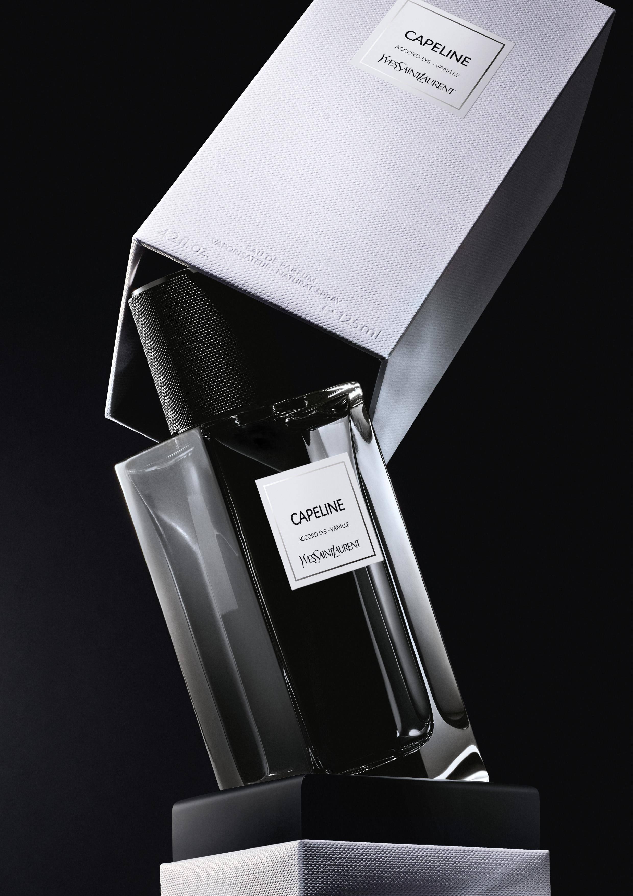contemporain lvp capeline vertivcal ysl - Yves Saint Laurent presenta  dos nuevas fragancias :  CAPELINE y JUMPSUIT